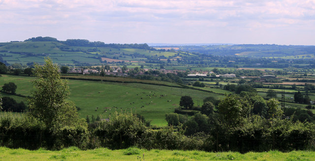 2011 : East of south from Whitstone Hill
