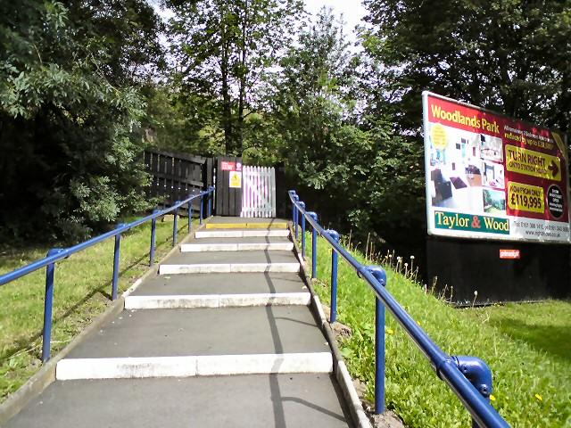 Steps to Godley Station