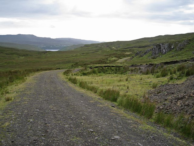 Track through Brae Meadale