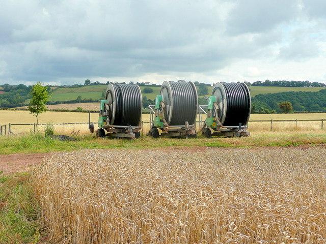 Three irrigation coils