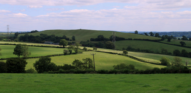 2011 : South east from Whitstone Hill