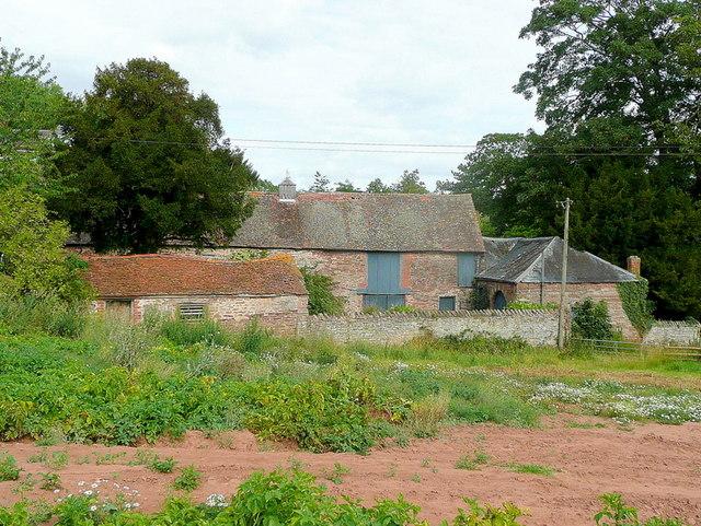 Outbuildings at Burton Court