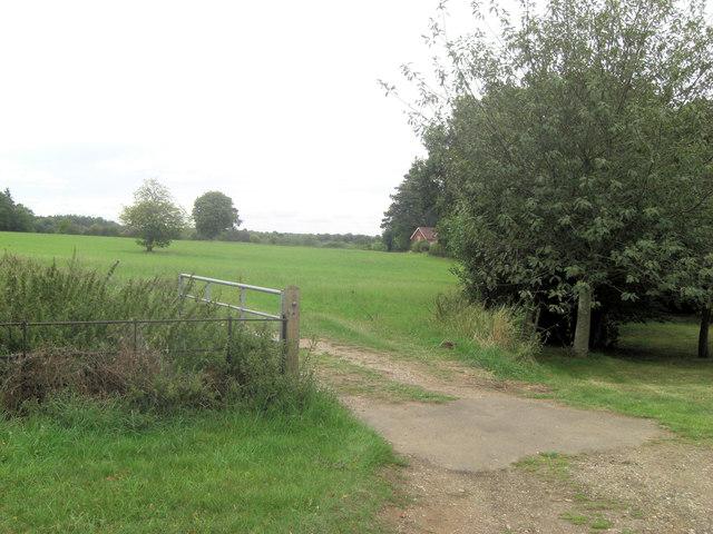 Lower Bowden Farm field gateway