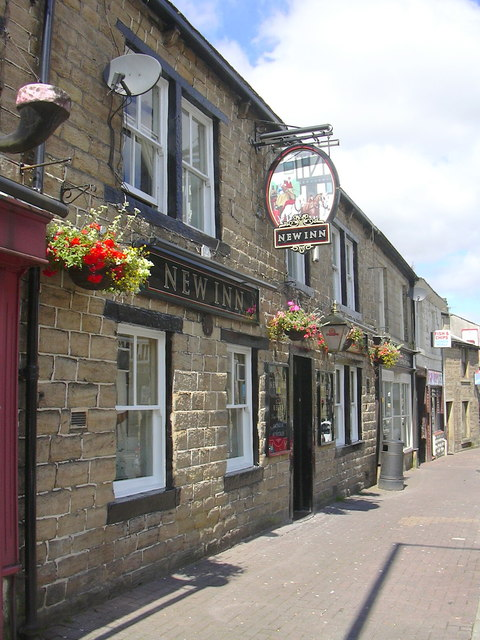 """The New Inn"" Rochdale Road, Bacup"