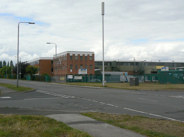 Industrial units on Park Road