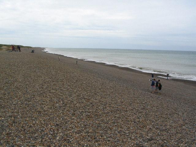 Weybourne shore