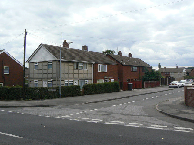 suburban concrete house