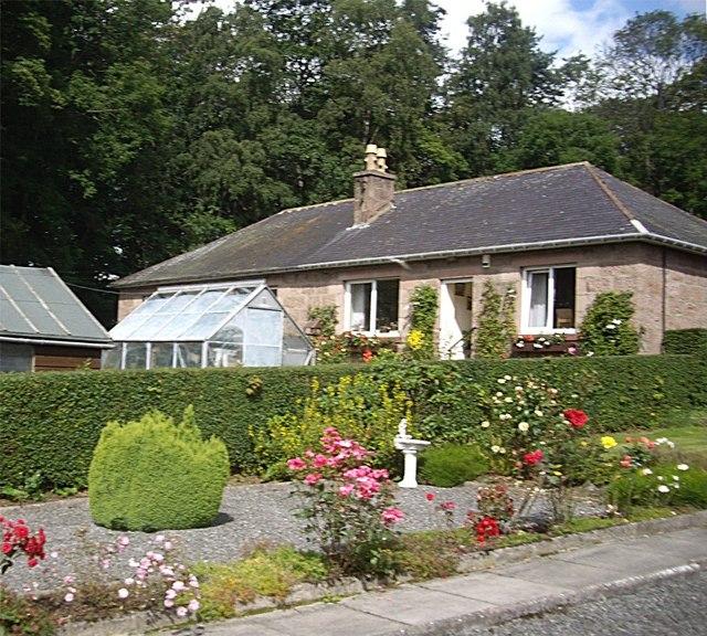 Cottage garden, Torphins