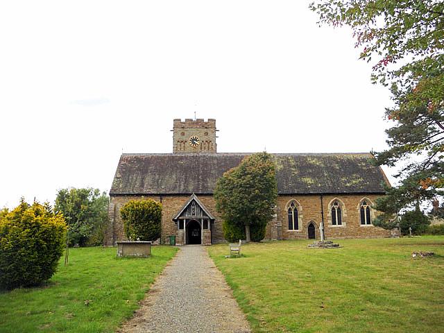 St. Cuthbert's church: Clungunford