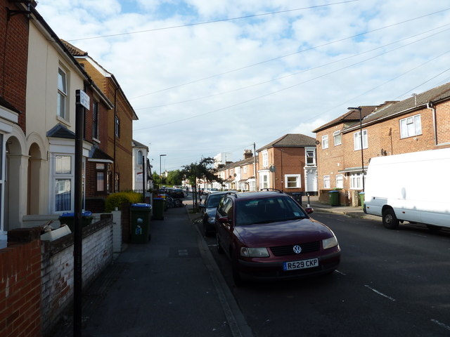 Parked vehicles in Northumberland Road