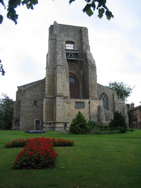 St Nicholas church tower