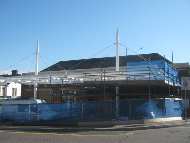 Gillingham Station under re-development