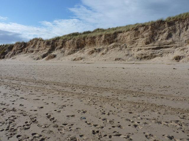 Dune bedding at Aberdovey
