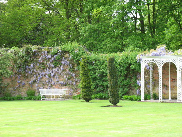 The gardens at Hare Hill