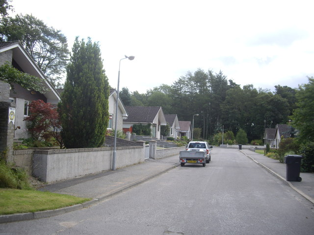 Old Mart Road, Torphins