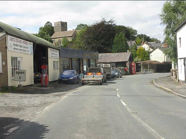 Castle Garage, Wigmore