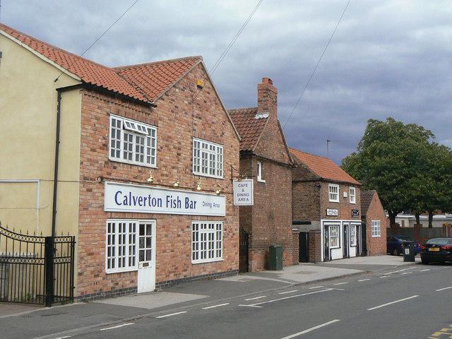 Buildings on Main Street (50-64)