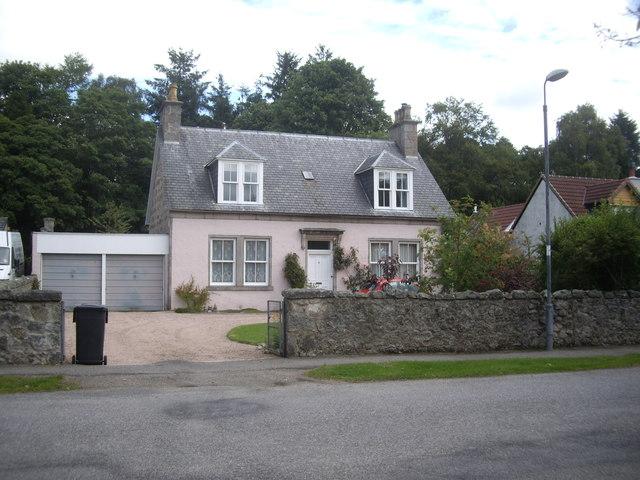 Cottage in William Street, Torphins