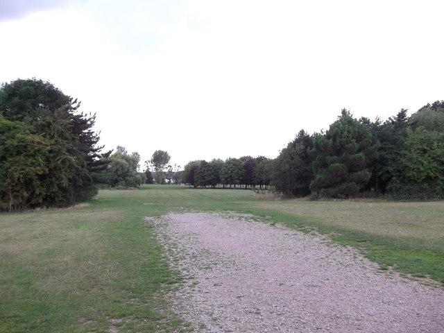 Access track into Danson Park