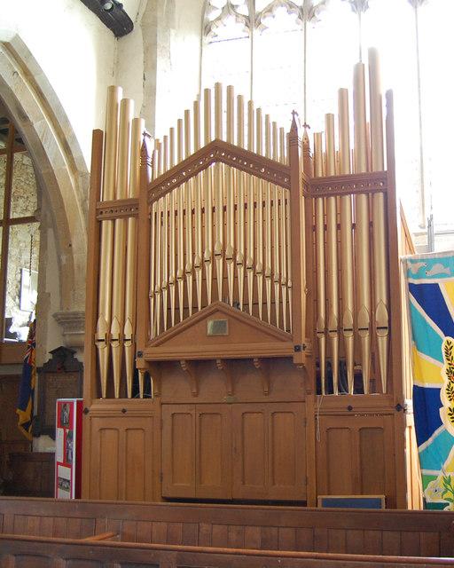 The Organ in Lamberhurst Church