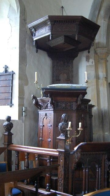 Pulpit, Lamberhurst Church