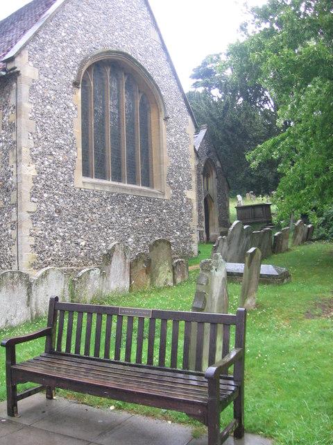 East end of St. Peter's Church, Caversham