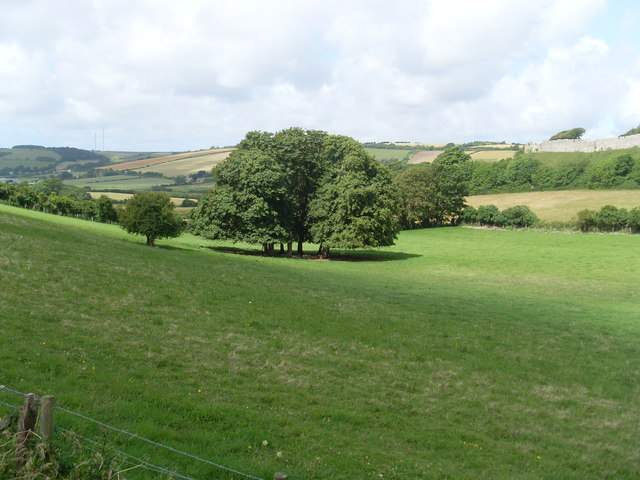 View from Carisbrooke Priory, IoW