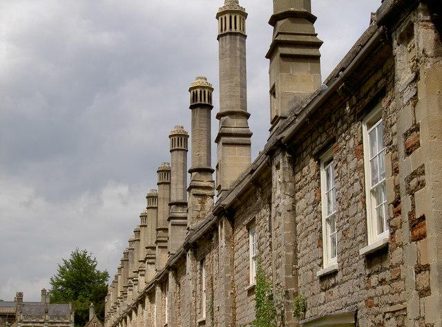 Chimneys of Vicar's Close
