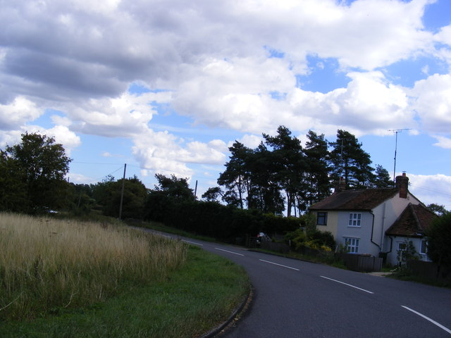 The B1079 near to Potash Farm