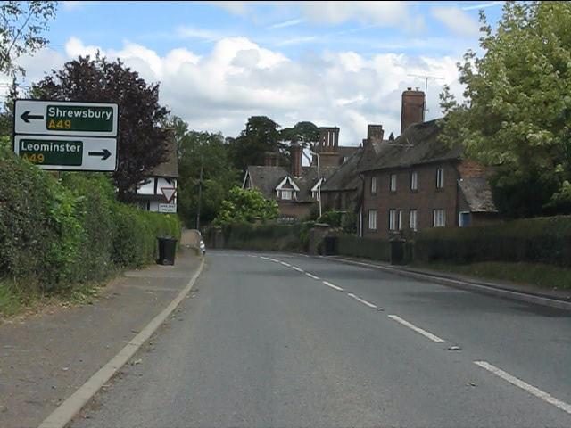 A4113 in Bromfield