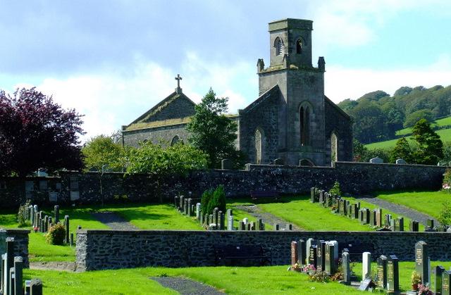 Ruined church of St Colmac