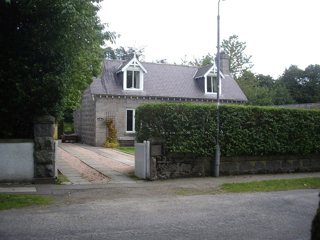 A cottage, William Street Torphins