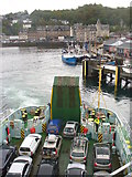 NM8529 : Leaving Oban by Colin Smith