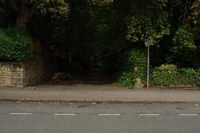 Entrance, Crowgill Park