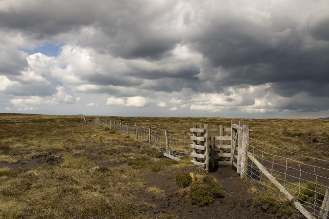 Kissing gate on Burnslack Fell