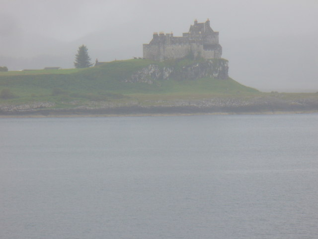 Duart Castle in the Gloom