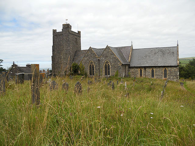 St. Mary's church, Newport/Trefdraeth