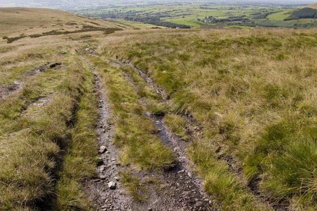 Track on Saddle Fell