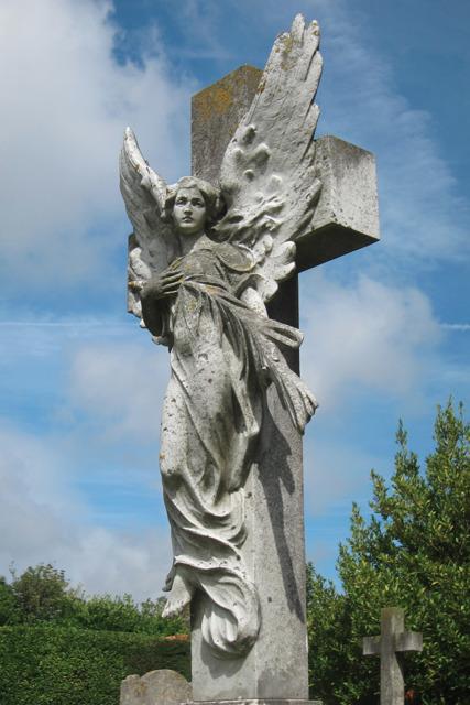 Angel at Ocklyne Cemetery