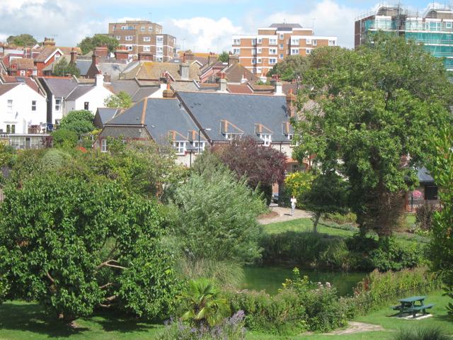 Pond at Motcombe Gardens