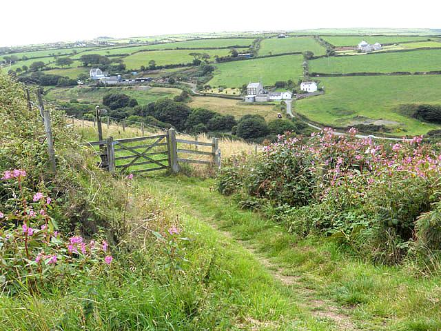 Pembroke Coastal Footpath above Ceibwr Bay