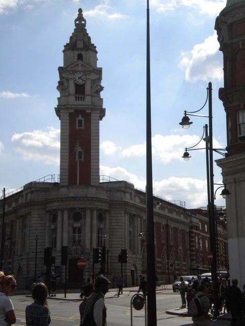 Lambeth Town Hall, Acre Lane SW2