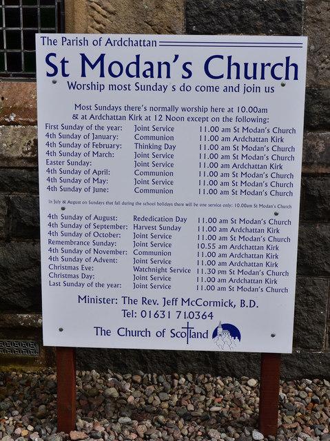 St Modan's Church, Benderloch - (3)