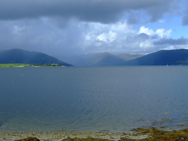 Kames Bay and the Kyles of Bute