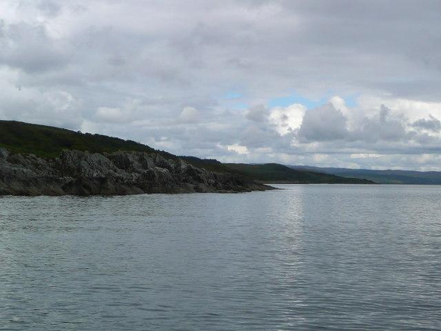 Rocky headland of Rubha Dearg-uillt