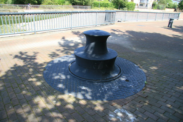 Hydraulic capstan, Isle of Dogs