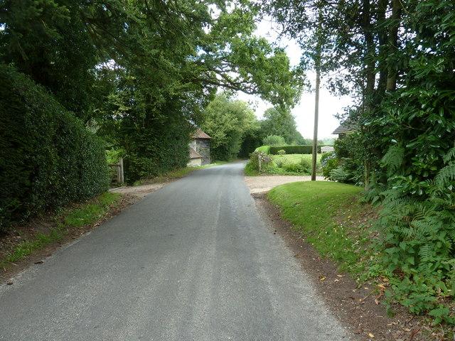 House entrances at Whitestone on Hammingden Lane