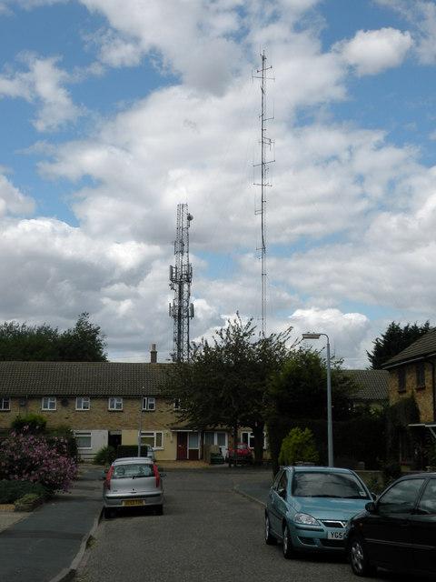 Communication Towers in Kirkwood Road