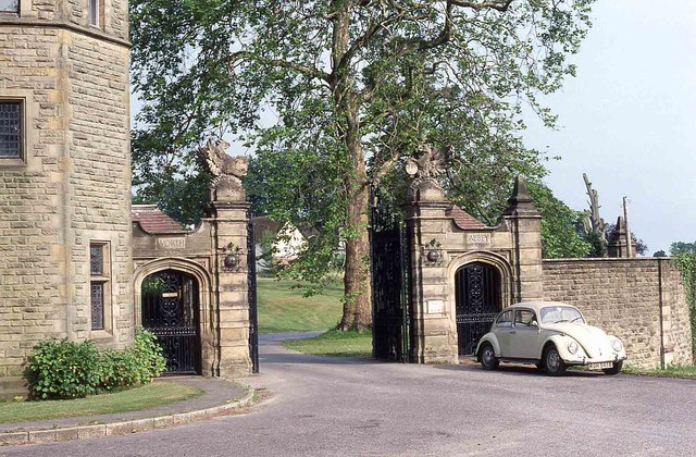 Main entrance to Worth School and Abbey