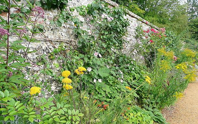 Walled garden at Hughenden Manor